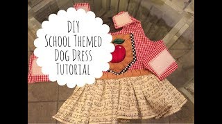 DIY | How To Make A Dog Dress