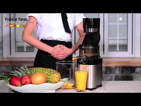 Video Kuvings Whole Slow Juicer Chef(CS600)_Beginner's juice recipe