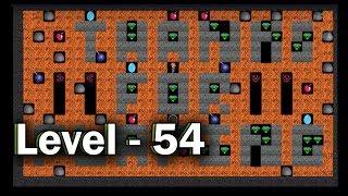 Diamond mine level 54 collected all 30 diamonds