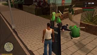 GTA San Andreas - Unsuccessful Ballas Attack