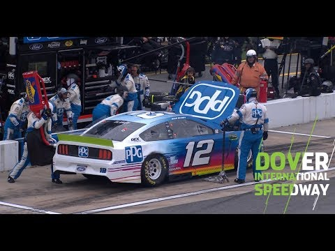 Ryan Blaney goes to garage with mechanical trouble: Dover International Speedway