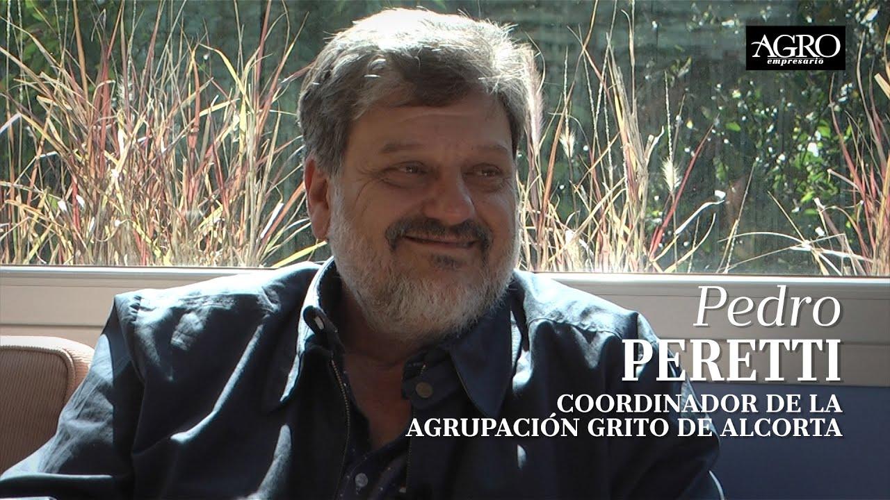 Pedro Peretti - Coordinador de la Agrupación Grito de Alcorta