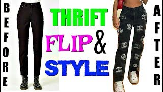 THRIFT FLIP & STYLE (3 CUTE FLIPS!!)