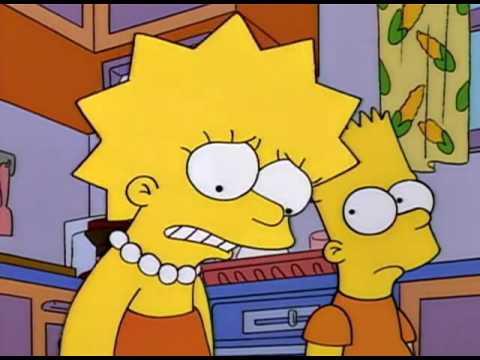 Los Simpson - Homer le compra un botijo (jarra) musical a Lisa