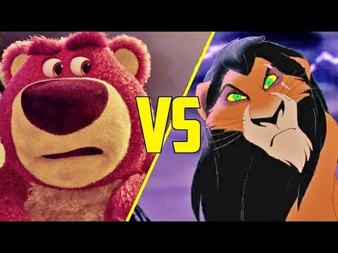 The Difference Between Pixar and Disney Villains