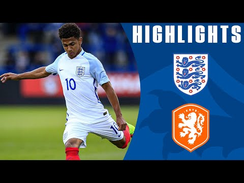 Excellent Free Kick from Marcus Edwards in Dominant Win | England U20 3-0 Netherlands | Highlights