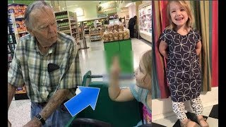 """Niña de 4 años le dice """"Hola Viejo"""".   Su reacción deja a las madre sin palabras"""