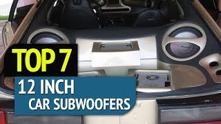 TOP 7: Best 12 inch Car Subwoofers