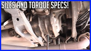How to Service Rear Differential Toyota