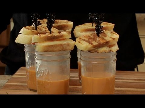 Grilled Cheese Sandwiches with Mini Blood Shots – Halloween with ModernMom