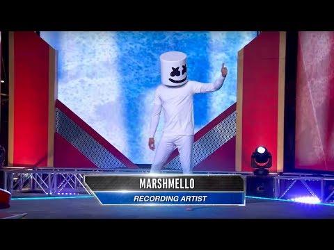 Marshmello vs. American Ninja Warrior - Will Mello Prevail?
