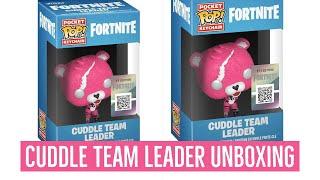Funko Pop Vinyl Fortnite CUDDLE TEAM LEADER KEAYCHAIN Unboxing Fortnite Battle Royale! Fortnite toys