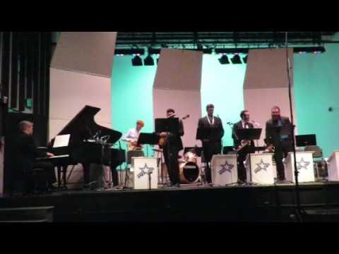 """Empty Pockets,"" by Herbie Hancock; URI Monday Night Jazz Messengers; Daniel Cook - alto sax solo"