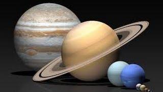 Сравнение размеров звёзд и планет.The size of the stars and planets