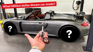 WHAT $1,000,000 DREAM CAR FIRST MODS...