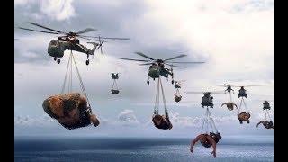 数十米高的巨人把人类当食物,人类不服,派出了现代化军队