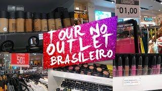 #VLOG Compras No OUTLET BRASILEIRO! Tem MAC, Forever 21 E Mais No CATARINA FASHION