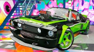 TUNEANDO COCHE REAL EN GTA SHELBY MUSTANG GT500 !! NUEVA SERIE ?? GTA V MODS PC Makiman