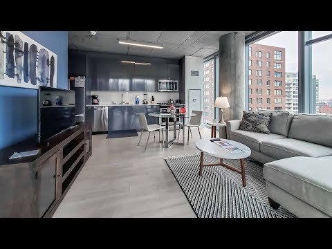 A River North furnished 1-bedroom near the Riverwalk and theMART