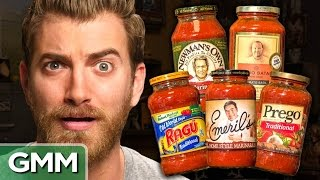 Blind Pasta Sauce Taste Test