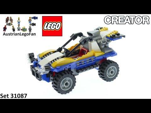 Vidéo LEGO Creator 31087 : Le buggy des dunes