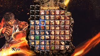 Street Fighter X Tekken All Characters+DLC+Rosters(No Fix) PC version