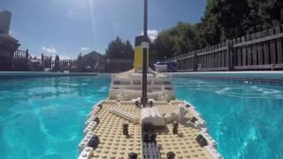 LEGO Titanic Sinking - Bow Cam [Vid 3 of 4]