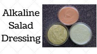 Salad Dressings Dr. Sebi Alkaline Electric Recipe