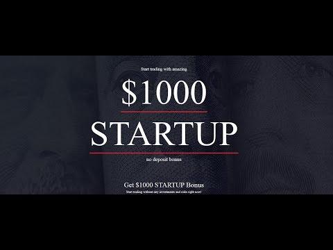 بونص 1000$ بدون إيداع من شركة Instaforex