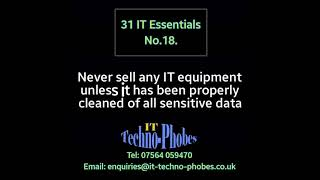 IT Techno-Phobes Limited Tip 18 – IT Support Services In Redditch