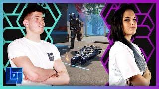 JMX vs AshleyMarieeGaming - 1V1   Legends of Gaming