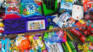 HUGE Magic Show Surprise Toys for Kids Surprise Eggs Blind Bags Tricks Toys for Boys Kinder Playtime