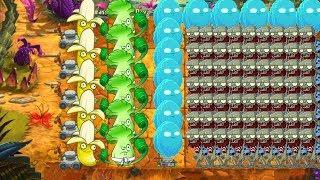 Plants vs Zombies 2 - Banana Launcher, Bonk Choy and Infi Nut