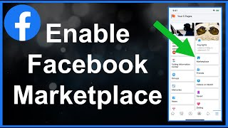 How To Enable Facebook Marketplace