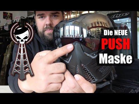 PUSH Paintball Maske Unboxing splashSHOW #26