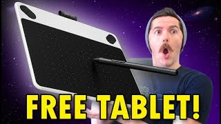 WIN A WACOM TABLET!!! BIRTHDAY GIVEAWAY!!!