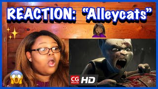 """REACTION: CGI Animated Short Film : """"Alleycats""""  by Blow studio 