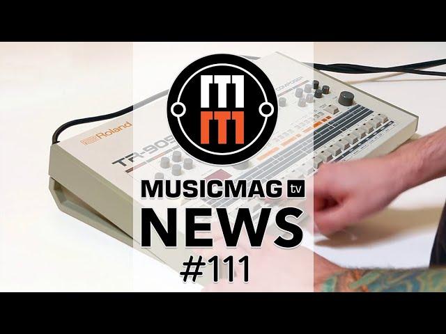 MUSICMAG TV NEWS #111: 909 от Behringer, «железный» ревербератор Цоя, пирамида из праха  от KLF