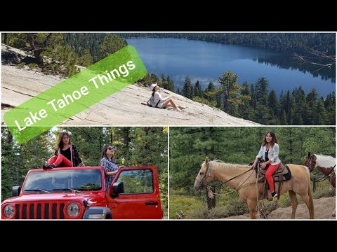 One Summer Weekend in Lake Tahoe