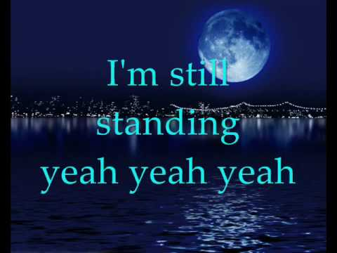 Elton John - I'm still standing (with lyrics)