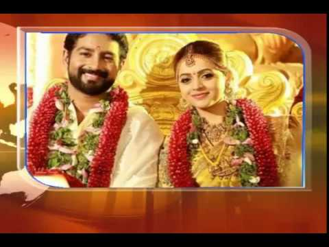 Actress Bhavana weds Director Naveen yesterday