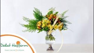 [Flowers TV] Hướng Dẫn Cắm Hoa Thủy Tiên