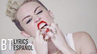 Miley Cyrus   We Can't Stop (Lyrics + Español) Video Official