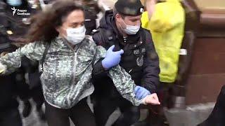 Именем коронавируса. Новые задержания в Москве
