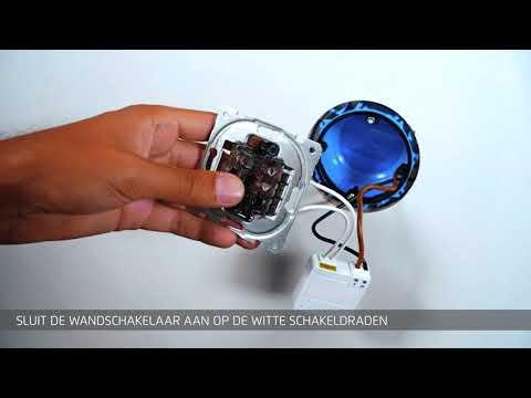 KlikAanKlikUit Mini Inbouw Schakelaar AWMR-230
