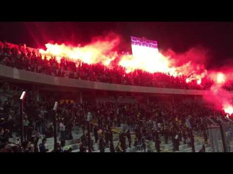 """""""Recibimiento Peñarol vs Danubio 2017"""" Barra: Barra Amsterdam • Club: Peñarol"""