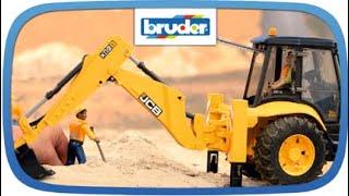 JCB 5CX eco Baggerlader -- 02454 -- Bruder Spielwaren