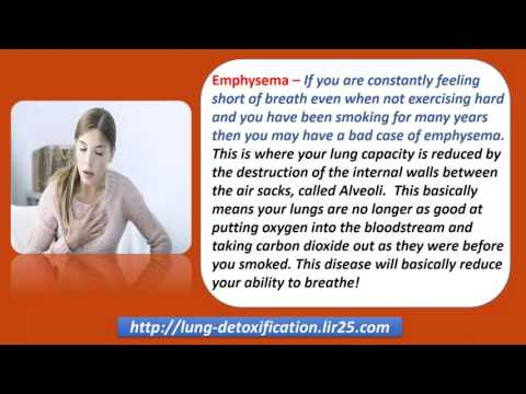 Video Symptoms of Lung Disease   How Smokers Can Overcome Them
