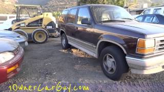 Car Parts Auto Part Fix & Repair ~ Cars Trucks For Sale Parting Out Video Review