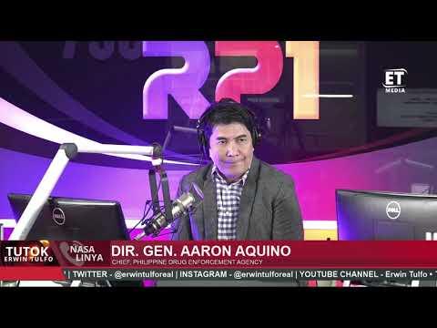 [Erwin Tulfo]  DIR  GEN AARON AQUINO ON  RANDOM DRUGTESTING TO POLITICAL CANDIDATES